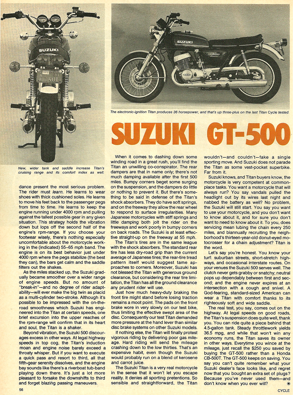 1976 Suzuki GT500 road test 5.jpg