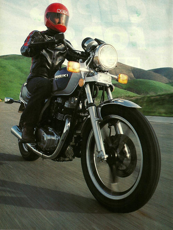 1983 Suzuki GR650D Tempter road test 1.jpg