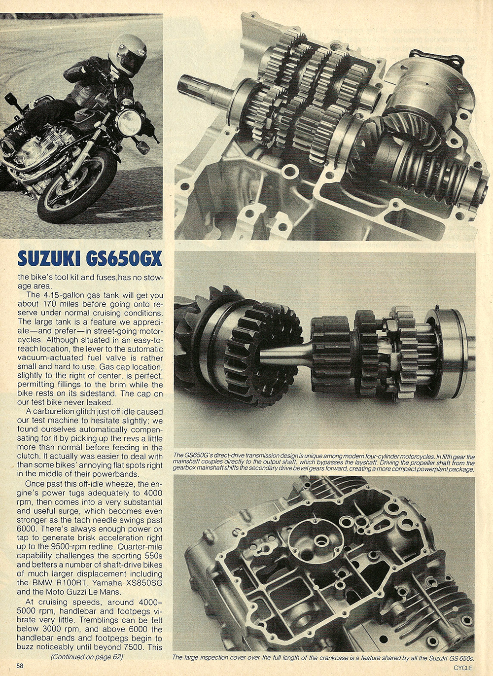 1981 Suzuki GS650 GX road test 05.jpg