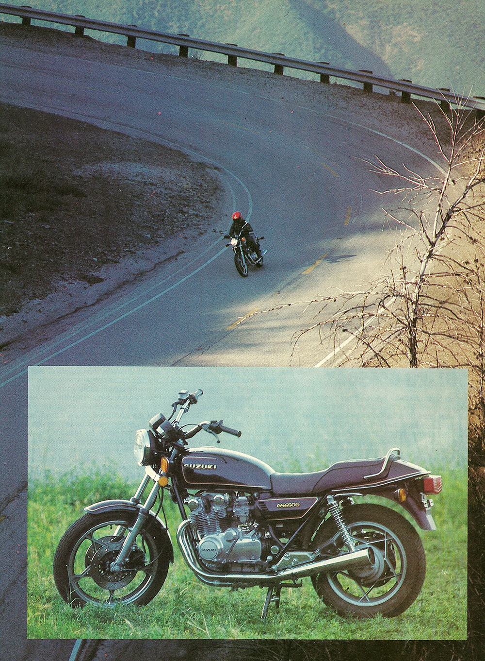 1981 Suzuki GS650 GX road test 02.jpg