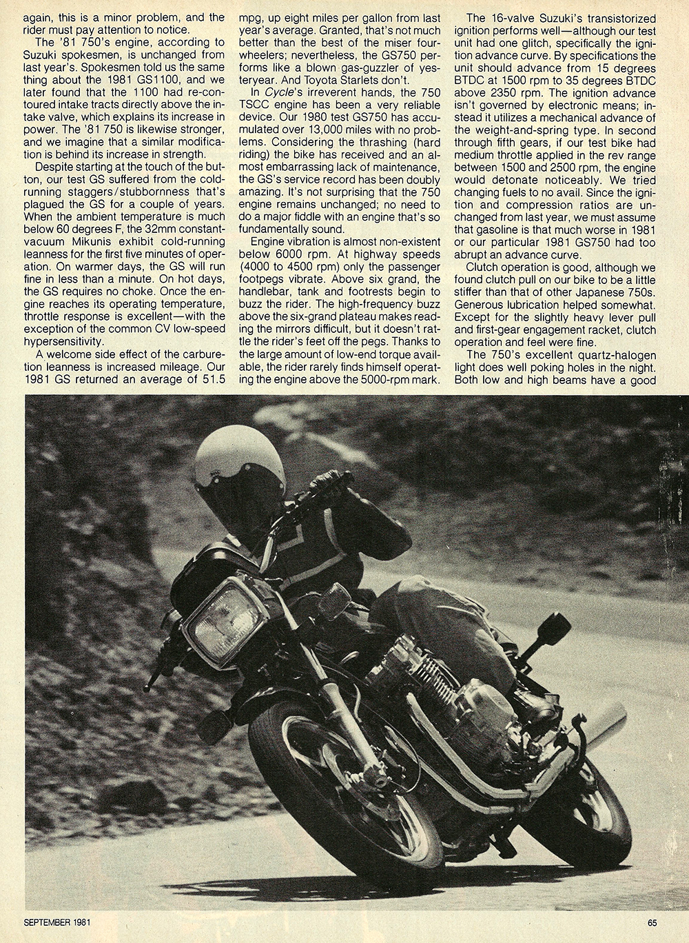 1981 Suzuki GS750 EX road test 04.jpg