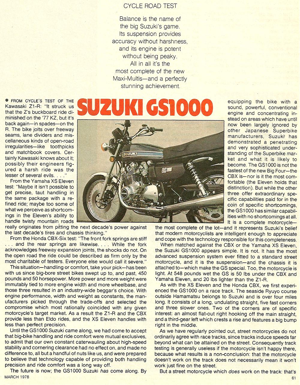 1978 Suzuki GS1000 road test 2.jpg