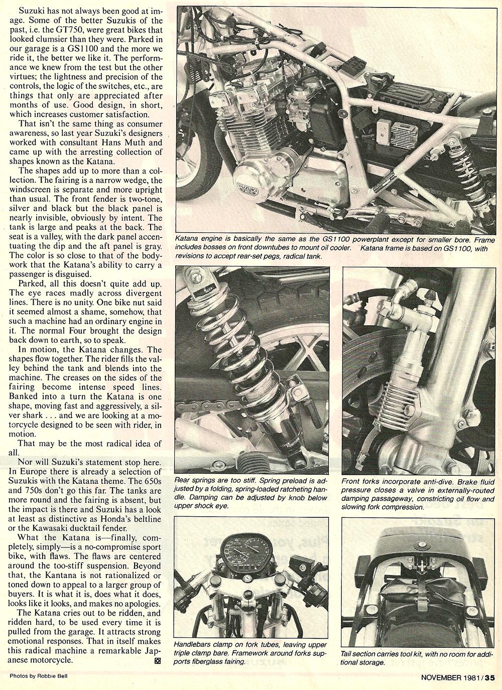 1981 Suzuki GS1000S Katana road test 6.jpg