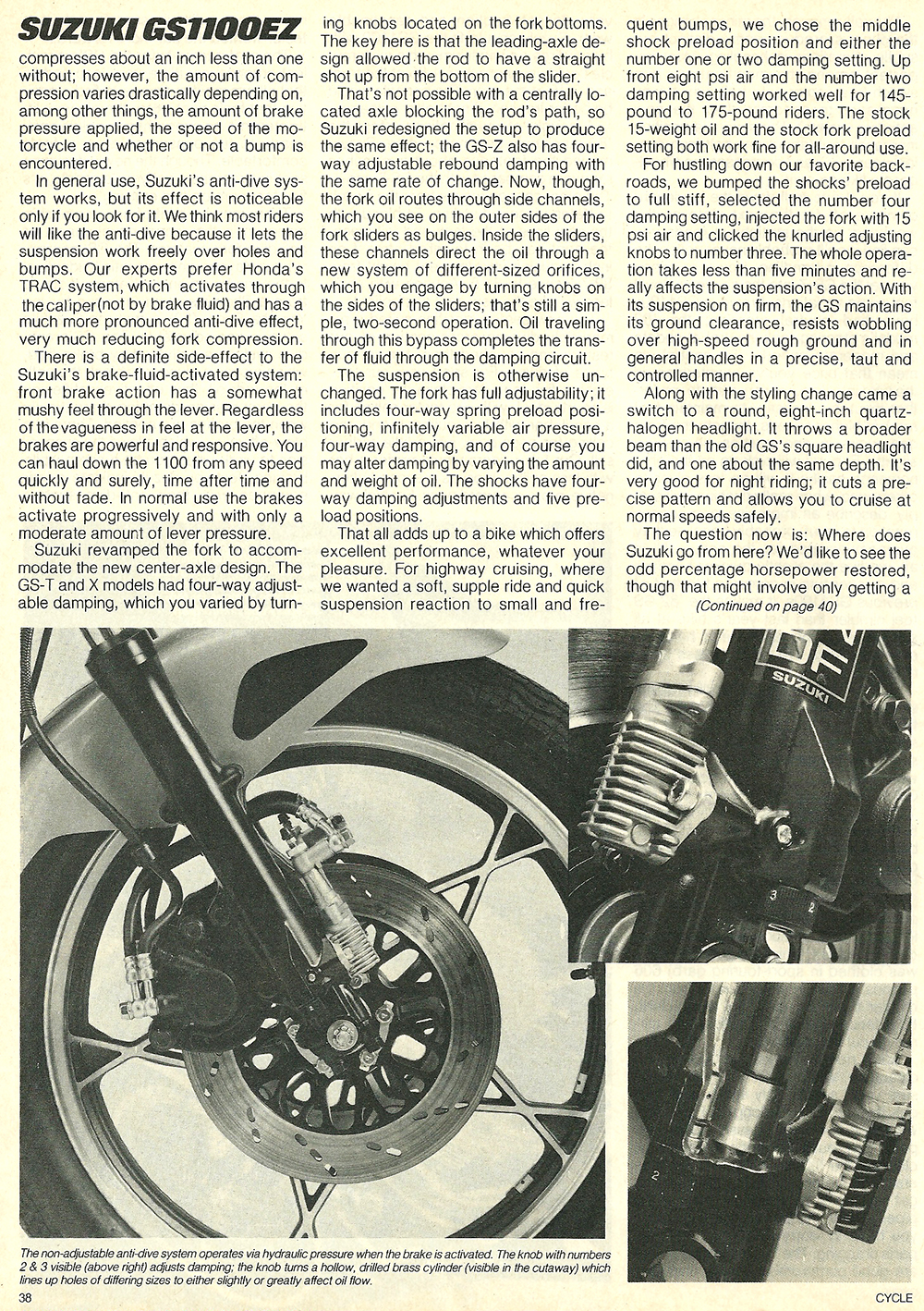 1982 Suzuki GS1100EZ road test 08.jpg