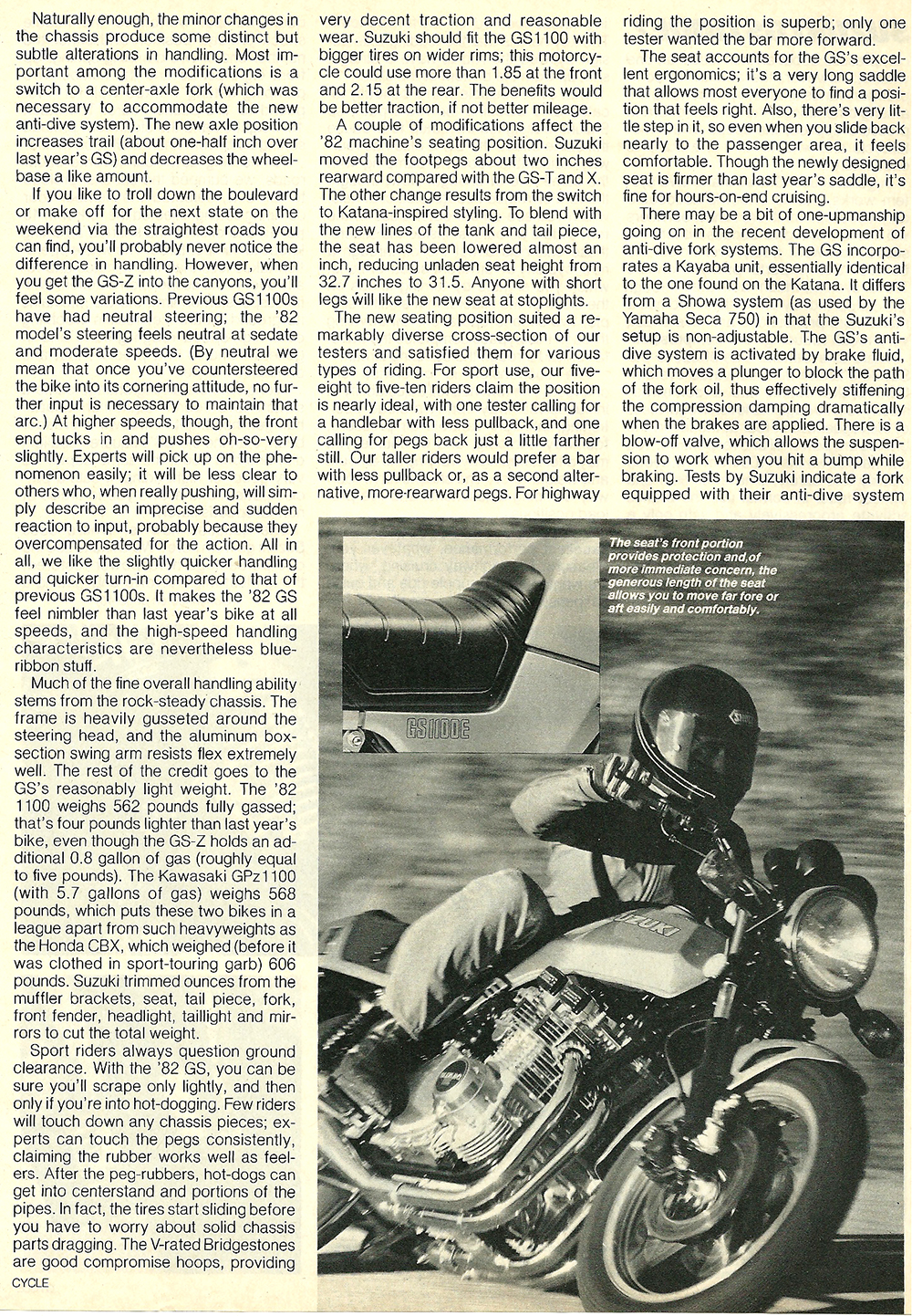 1982 Suzuki GS1100EZ road test 06.jpg