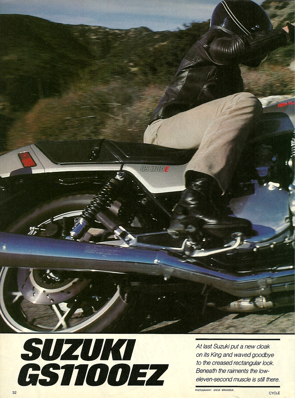 1982 Suzuki GS1100EZ road test 01.jpg