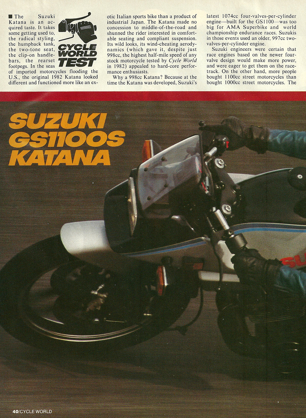 1983 Suzuki GS1100 S Katana road test 01.jpg