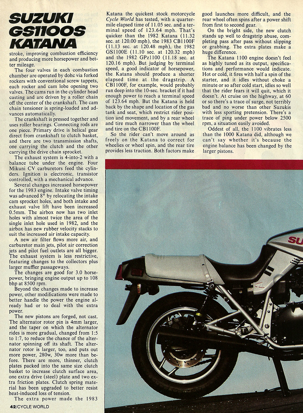 1983 Suzuki GS1100 S Katana road test 03.jpg