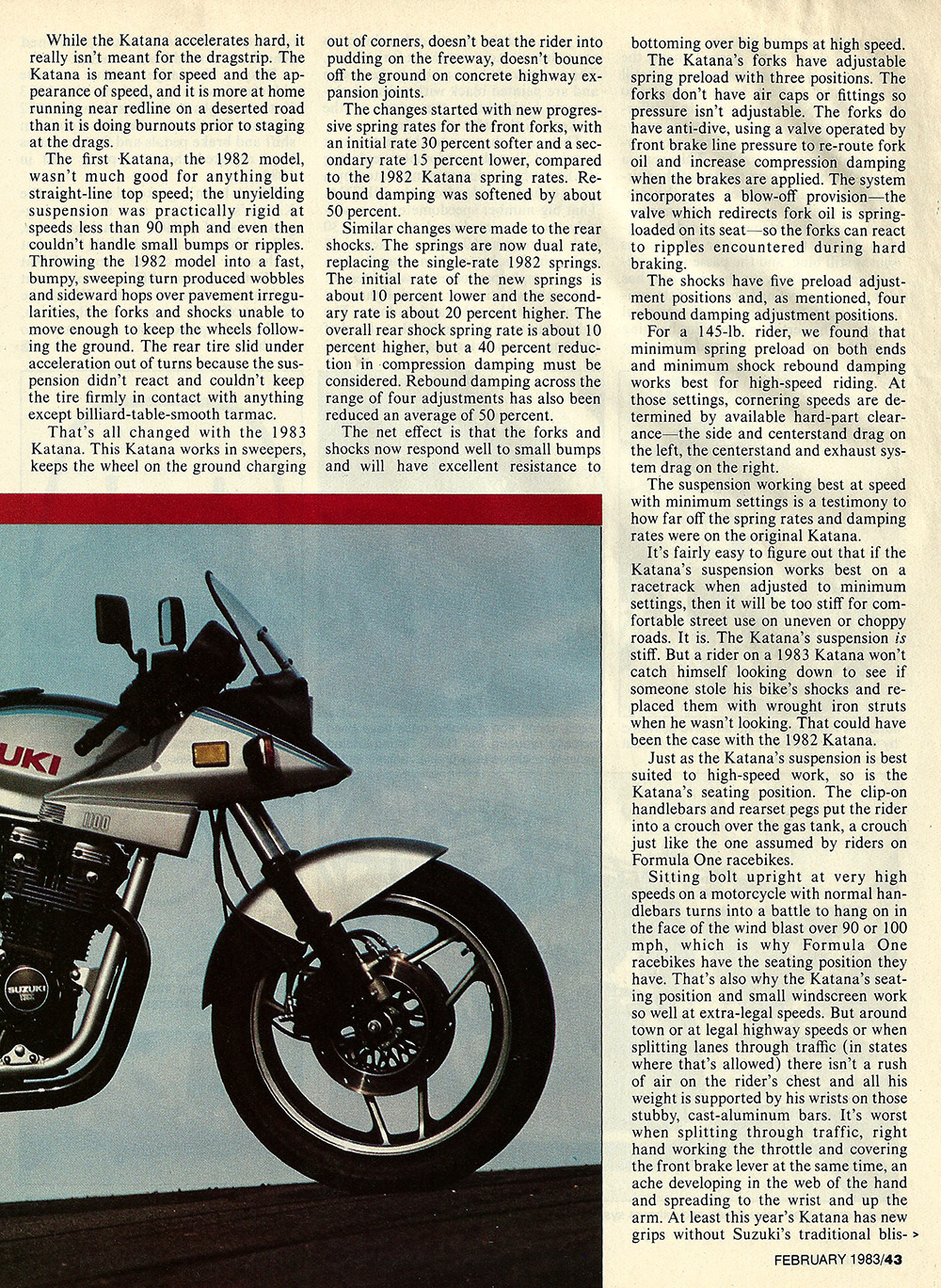 1983 Suzuki GS1100 S Katana road test 04.jpg