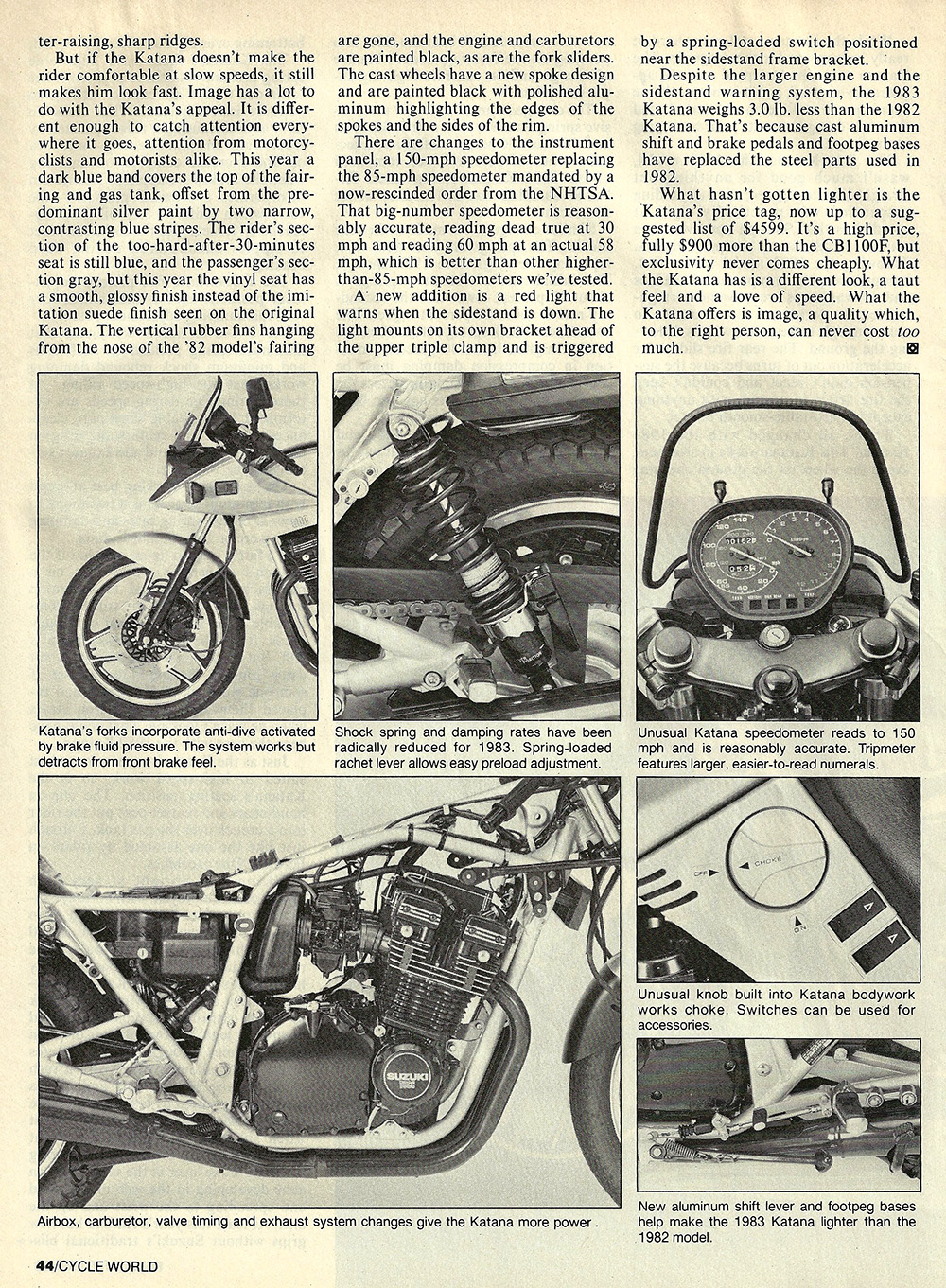 1983 Suzuki GS1100 S Katana road test 05.jpg