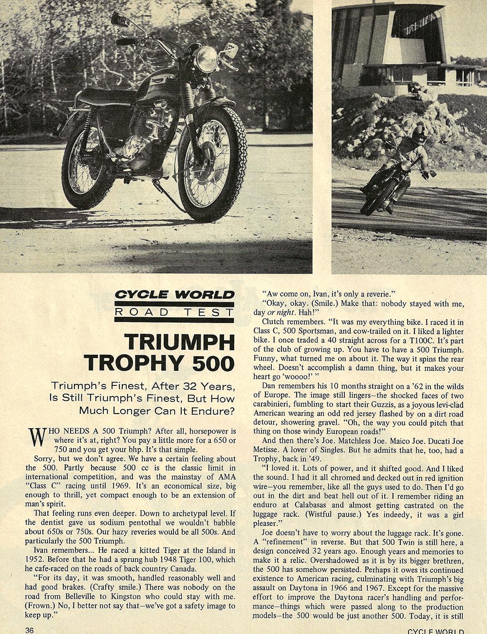 1970 Triumph Trophy 500 road test 01.jpg