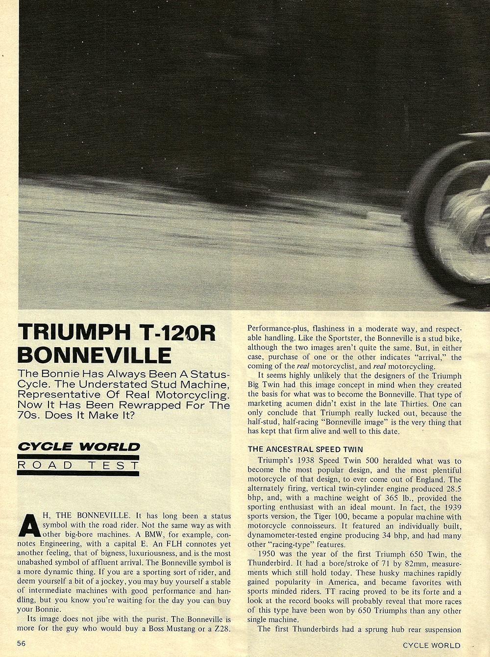 1971 Triumph T120R Bonneville road test 01.jpg