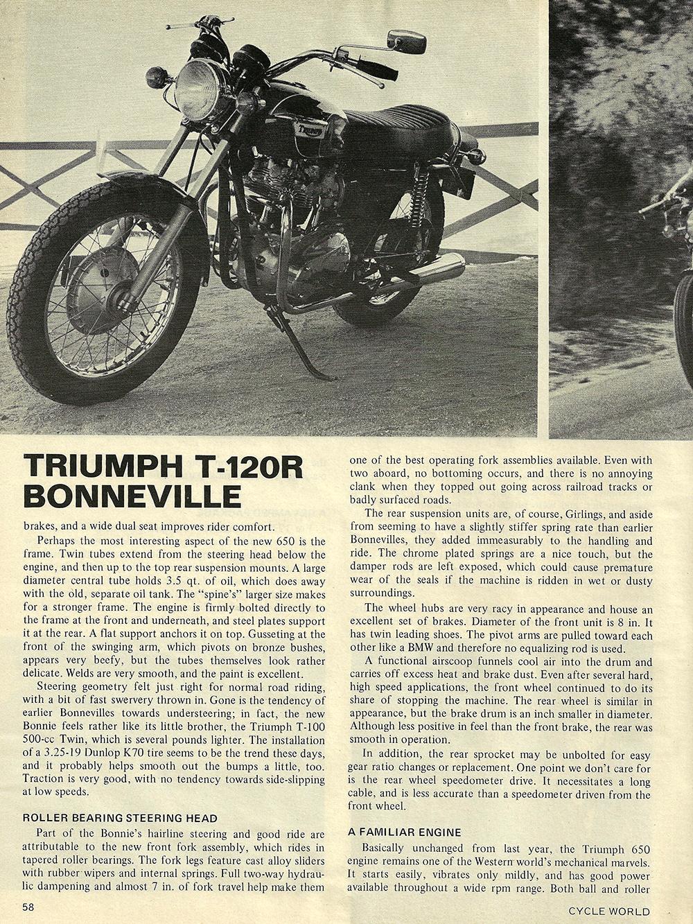 1971 Triumph T120R Bonneville road test 03.jpg