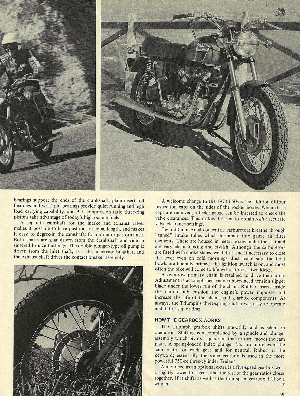 1971 Triumph T120R Bonneville road test 04.jpg