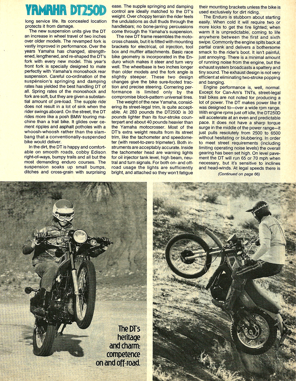 1977 Yamaha DT250D road test 5.jpg