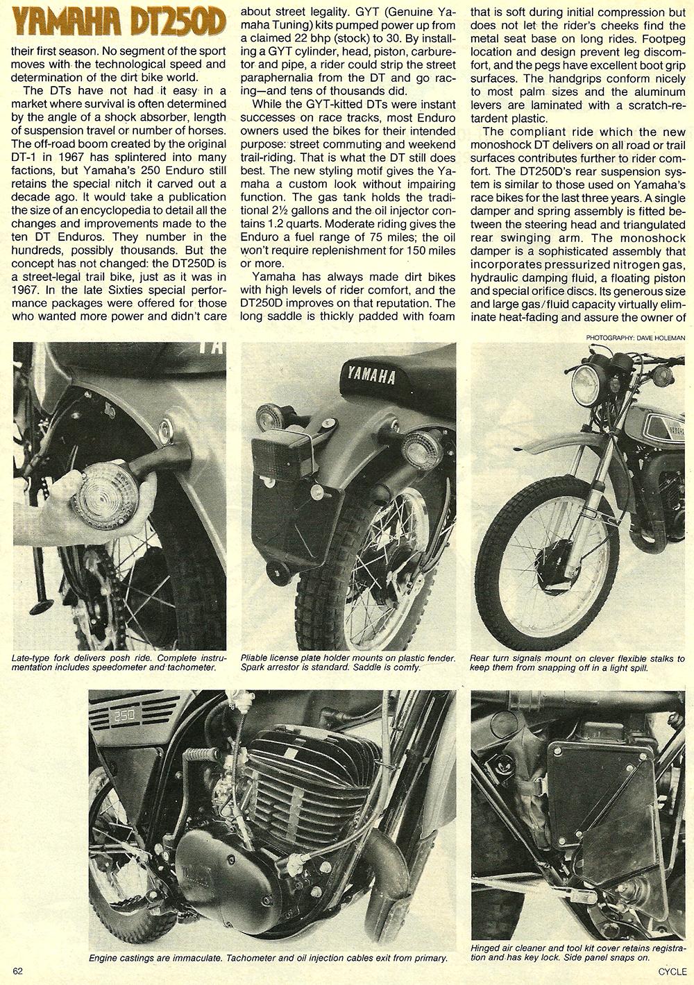 1977 Yamaha DT250D road test 2.jpg