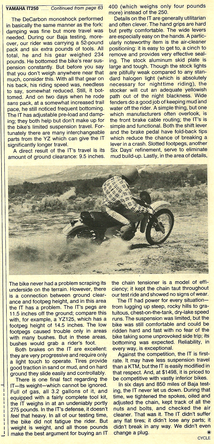 1978 Yamaha IT250 road test 06.jpg