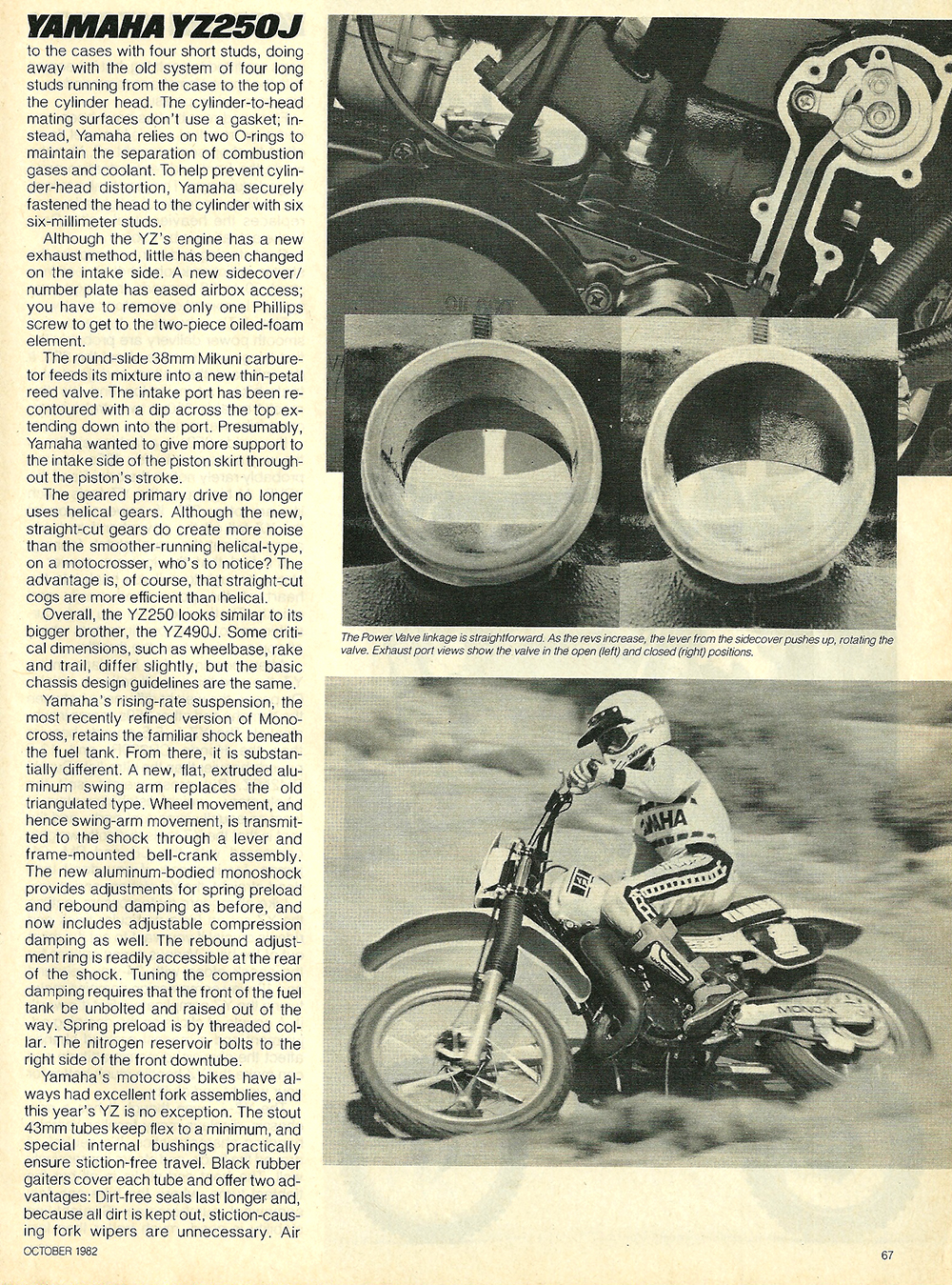 1982 Yamaha YZ250J road test 5.jpg