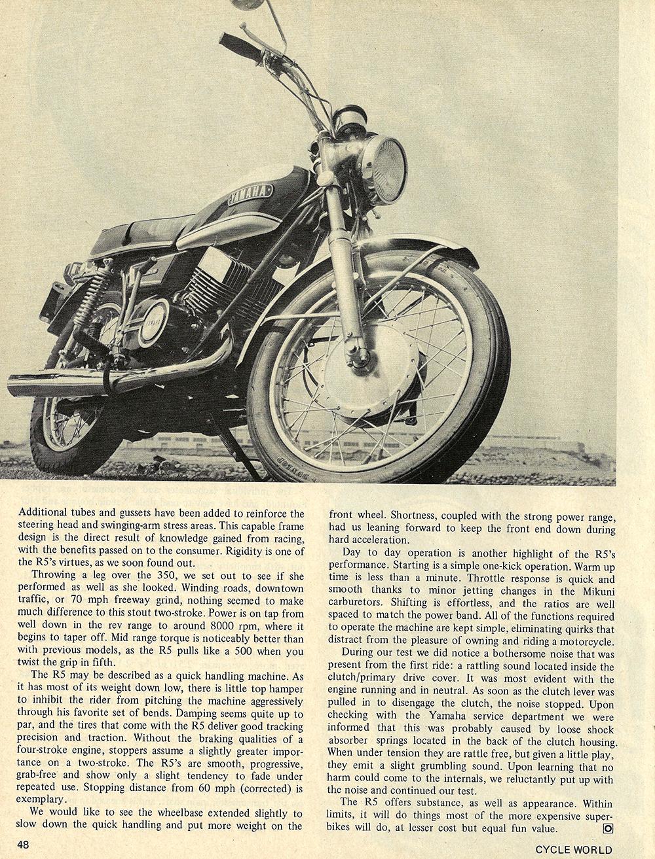 1970 Yamaha R5 350 road test 03.jpg