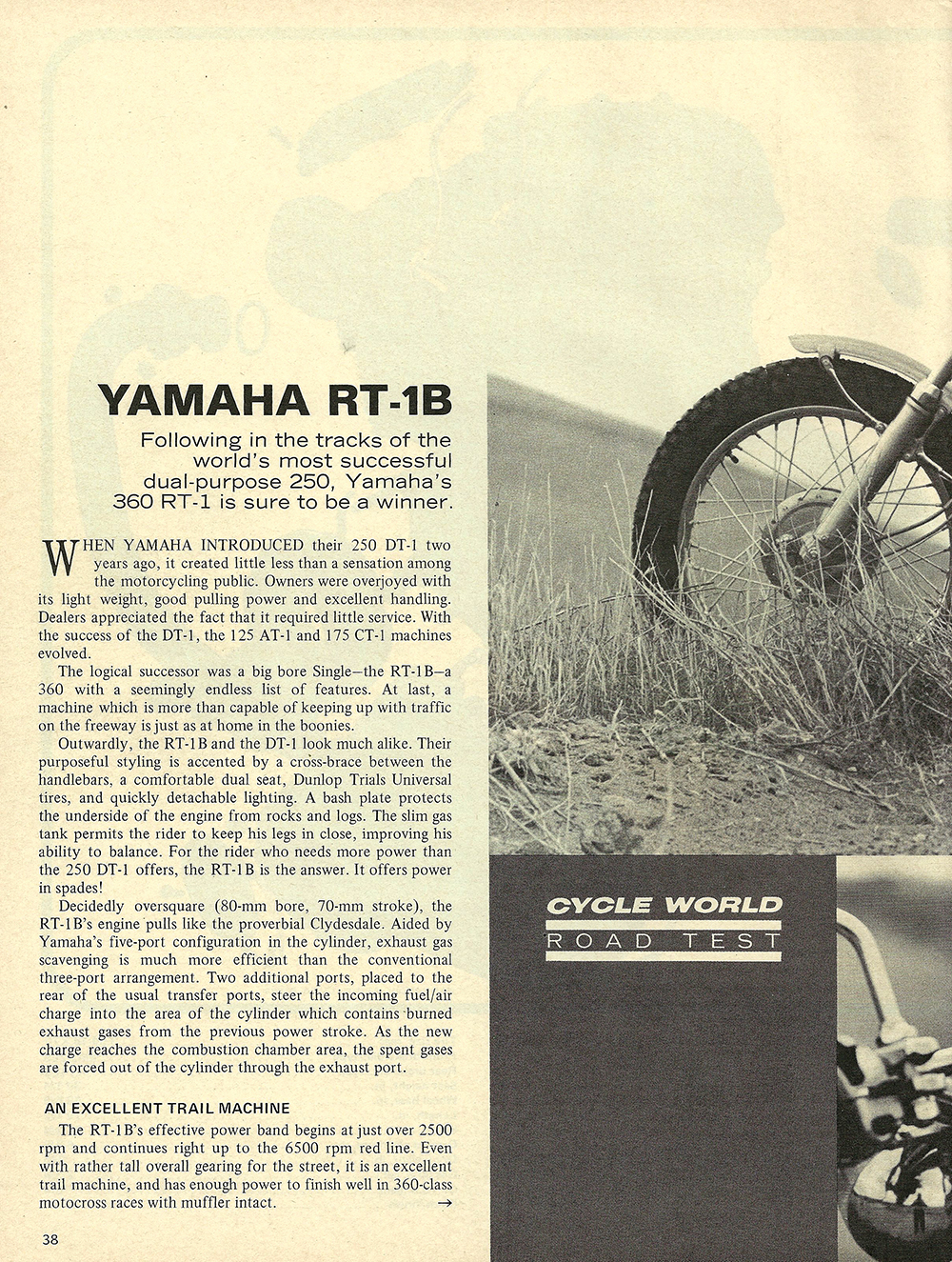 1971 Yamaha RT-1B road test 01.jpg