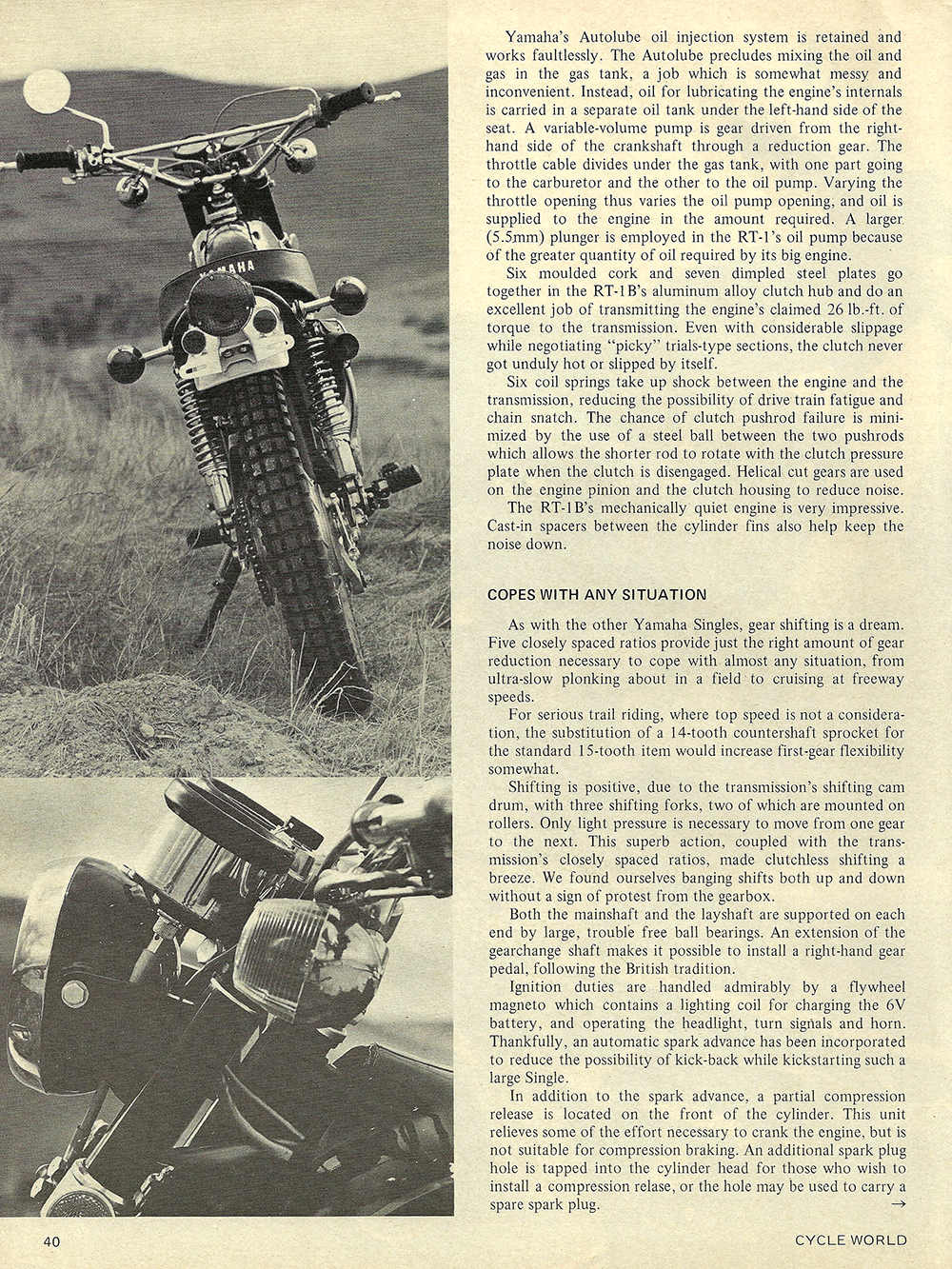 1971 Yamaha RT-1B road test 03.jpg