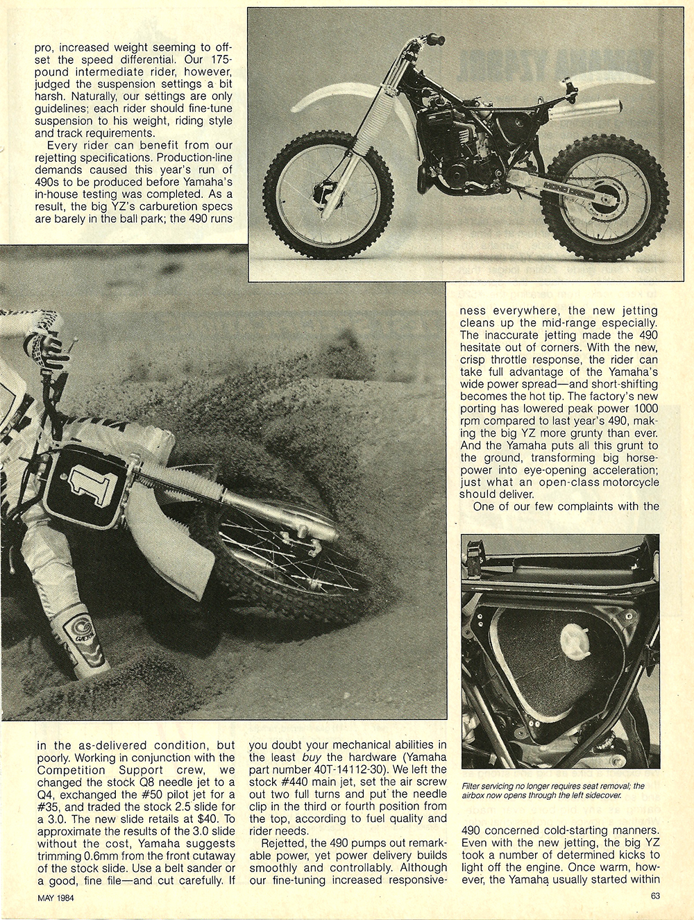 1984 Yamaha YZ490L off road test 6.jpg