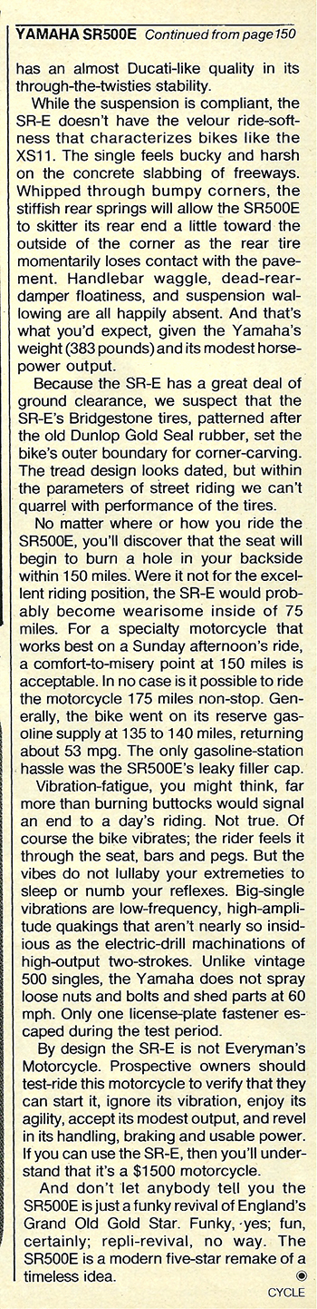 1978 Yamaha SR500E road test 7.jpg