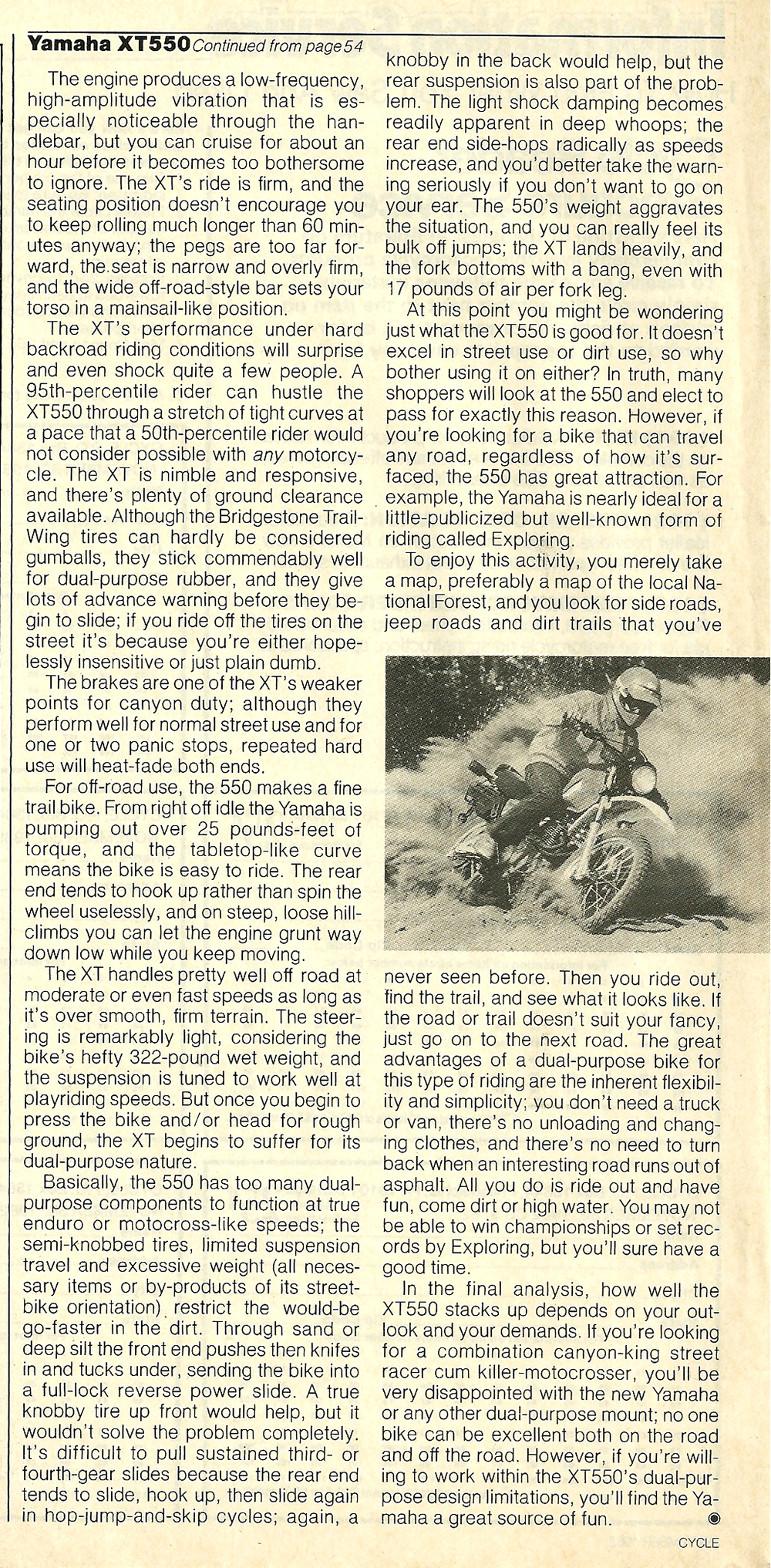 1982 Yamaha XT550J off road test 8.jpg