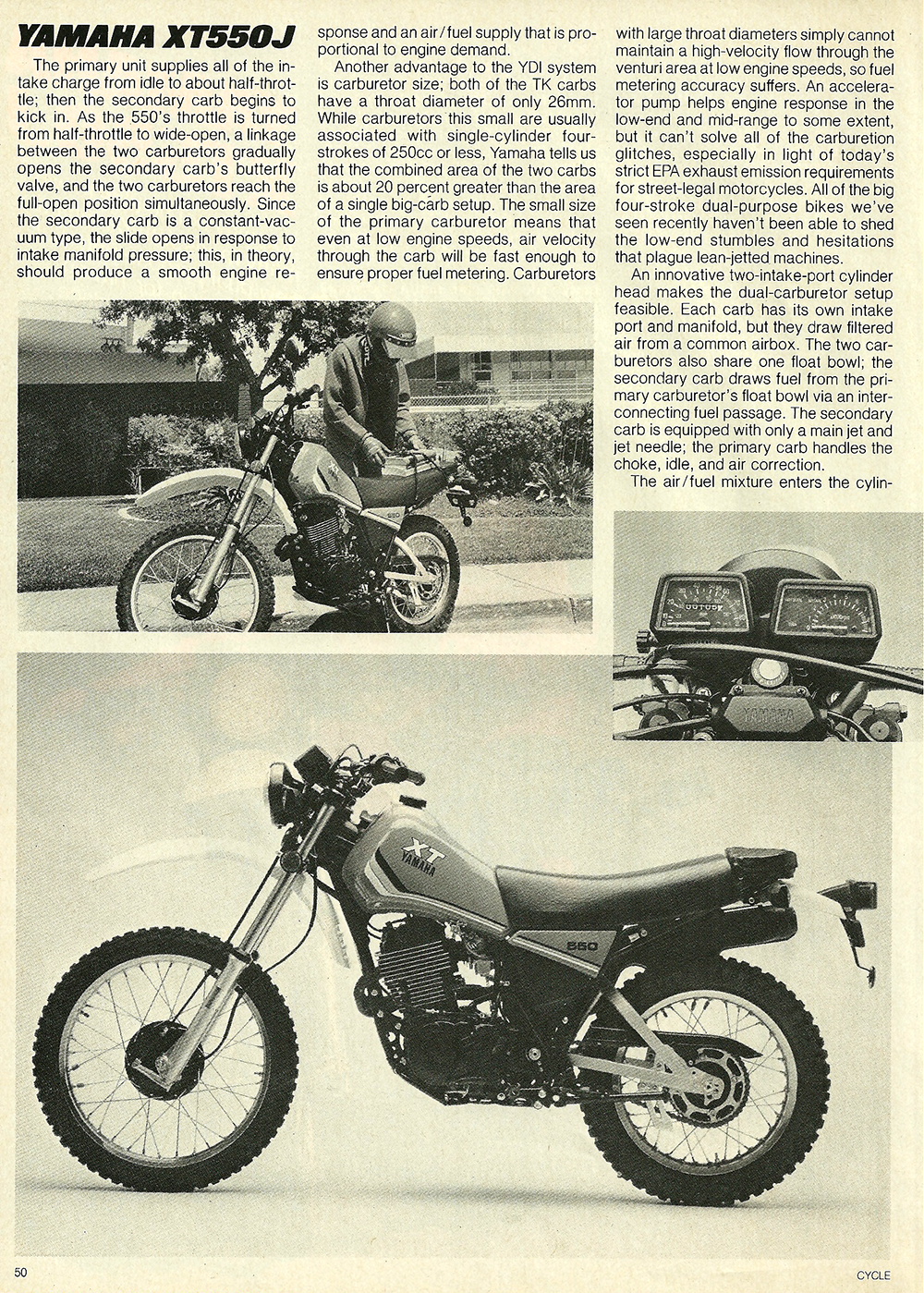 1982 Yamaha XT550J off road test 2.jpg