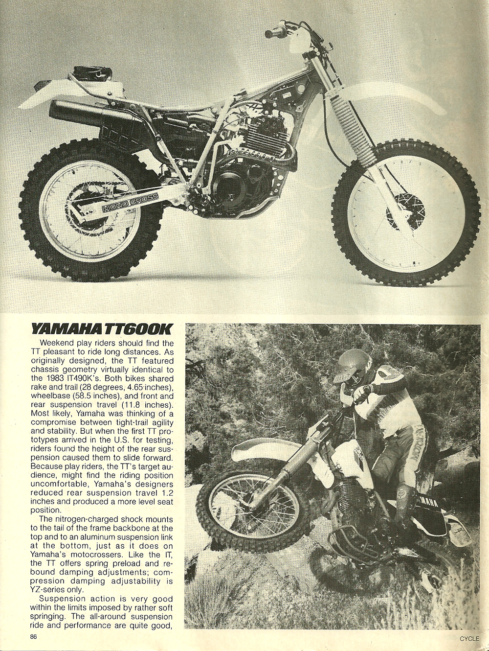 1983 Yamaha TT600K off road test 5.jpg