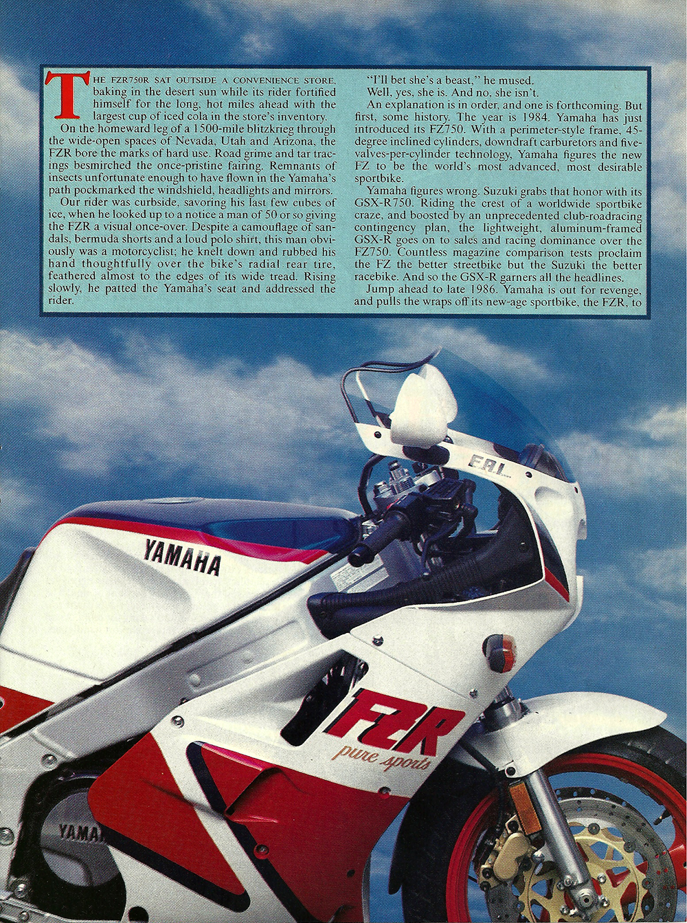 1987 Yamaha FZR750R road test 02.jpg