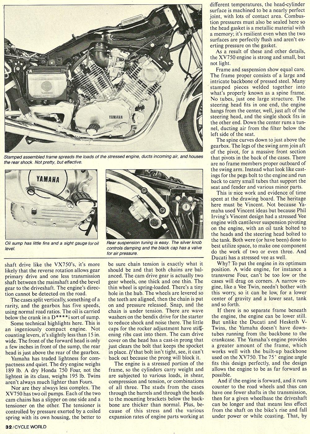 1981 Yamaha XV750 Virago road test 05.jpg