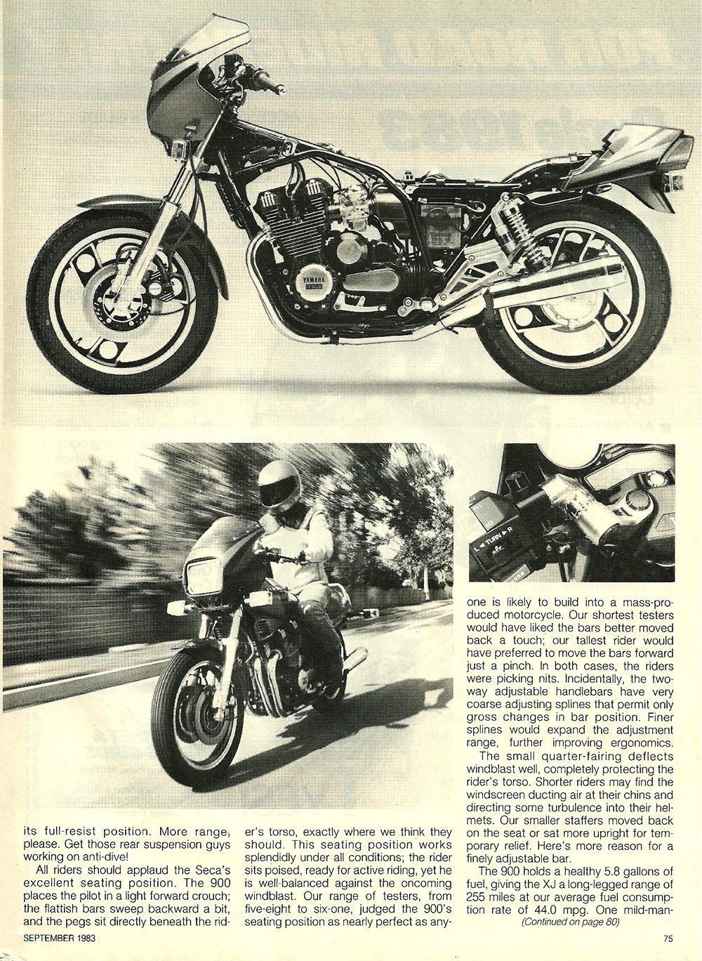 1983 Yamaha XJ900RK Seca road test 6.jpg