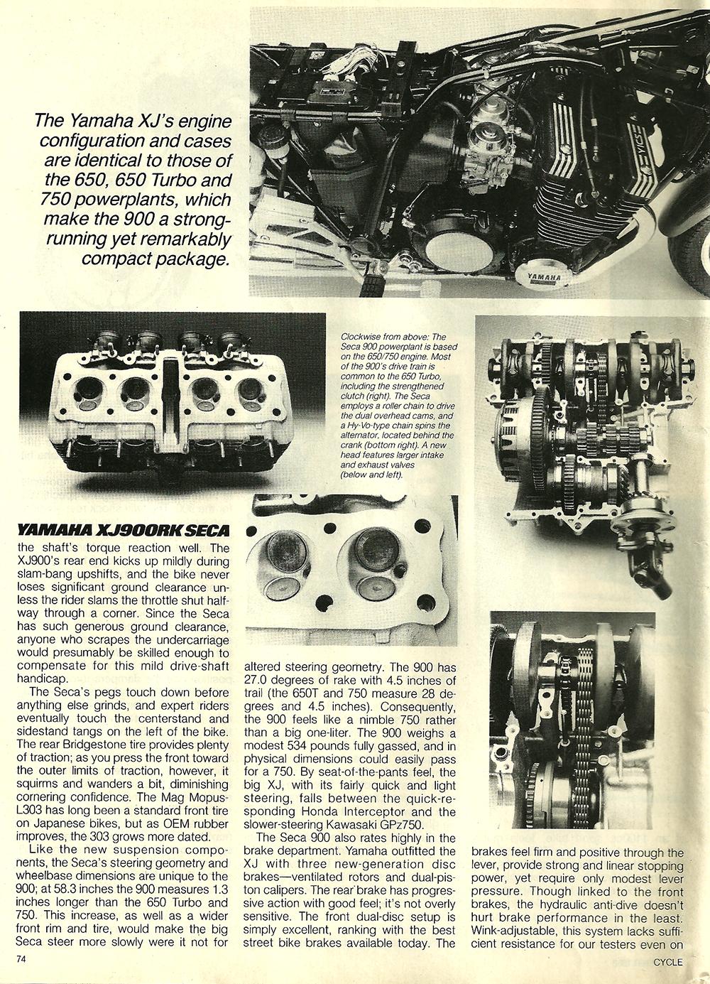1983 Yamaha XJ900RK Seca road test 5.jpg
