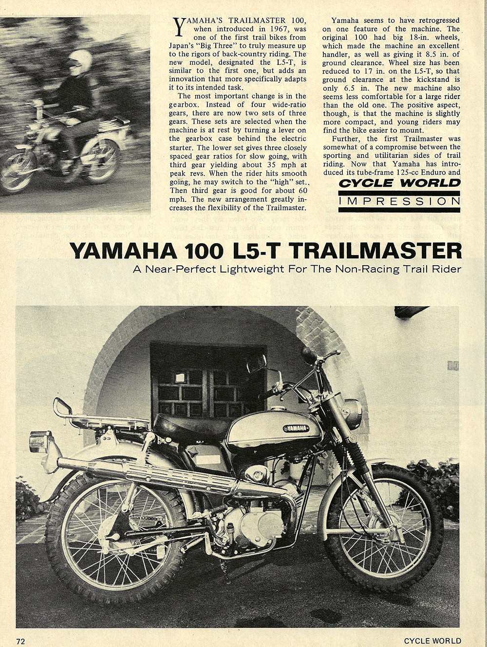 1969 Yamaha L5T Trailmaster 100 road test 01.jpg