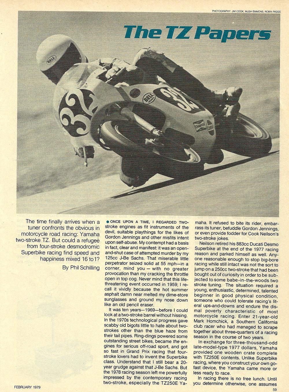 1978 Yamaha TZ750 Bumblebee Special test 07.jpg