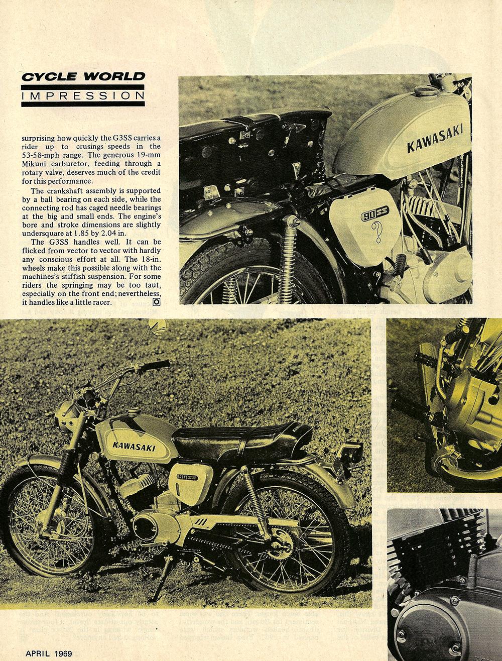1969 Kawasaki G3SS 90 road test 02.jpg