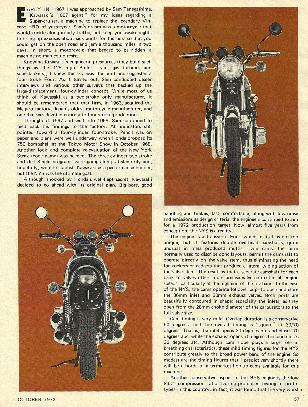 1972 Kawasaki Z1 900 New York Steak road test 02.jpg