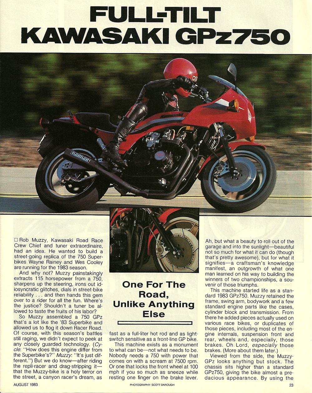 1983 Kawasaki GPz 750 full tilt test 1.jpg