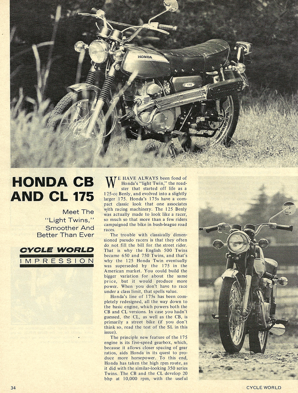 1970 Honda CB 175 CL 175 road test 01.jpg