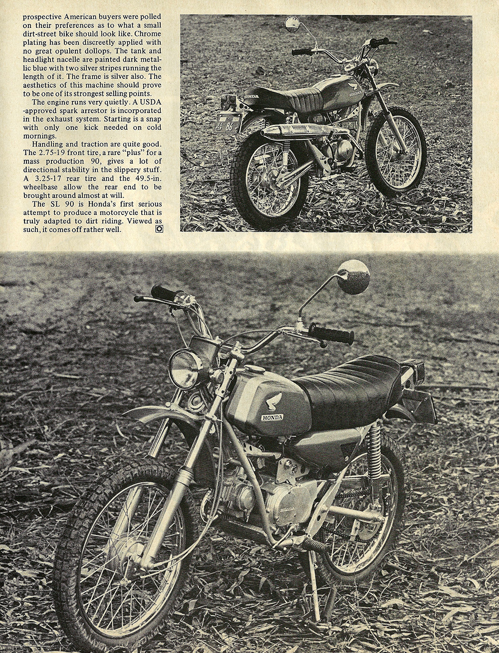 1969 Honda SL 90 short test 02.jpg