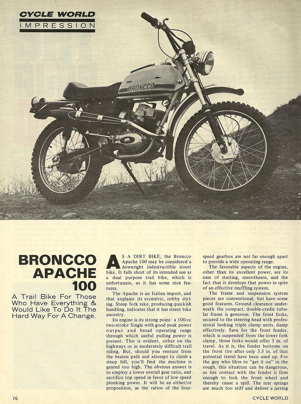 1971 Broncco Apache 100 road test 01.jpg