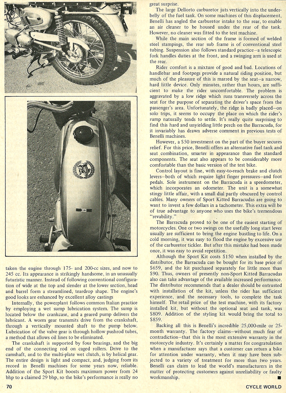1968 Benelli Barracuda 250 road test 03.jpg