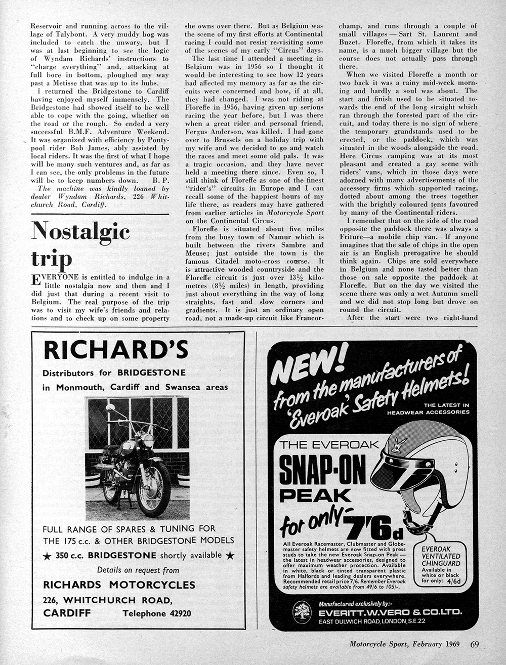 1969 Bridgestone 175 Hurricane Scrambler road test 3.jpg