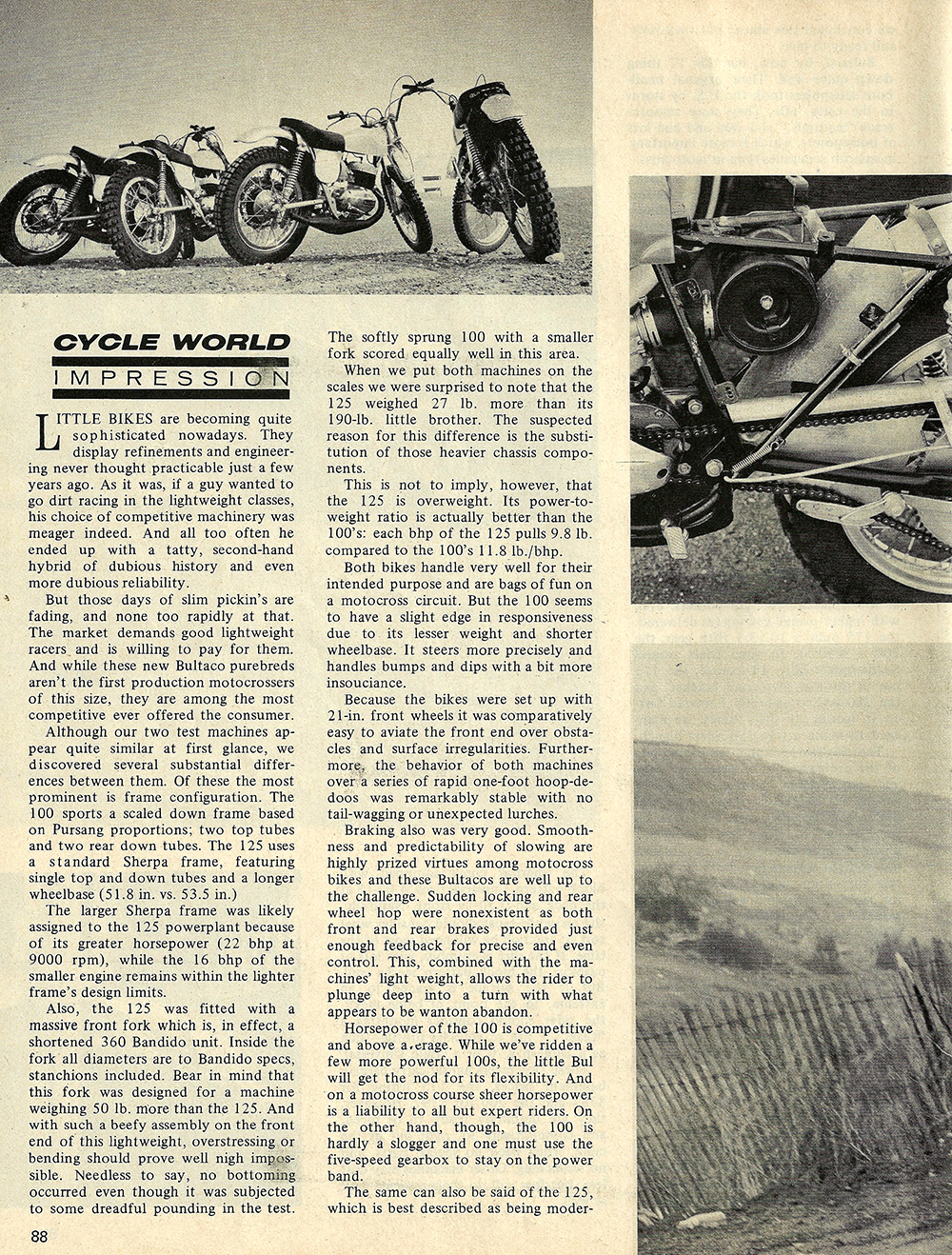 1970 Bultaco Sherpa 175 and 200 road test 03.jpg