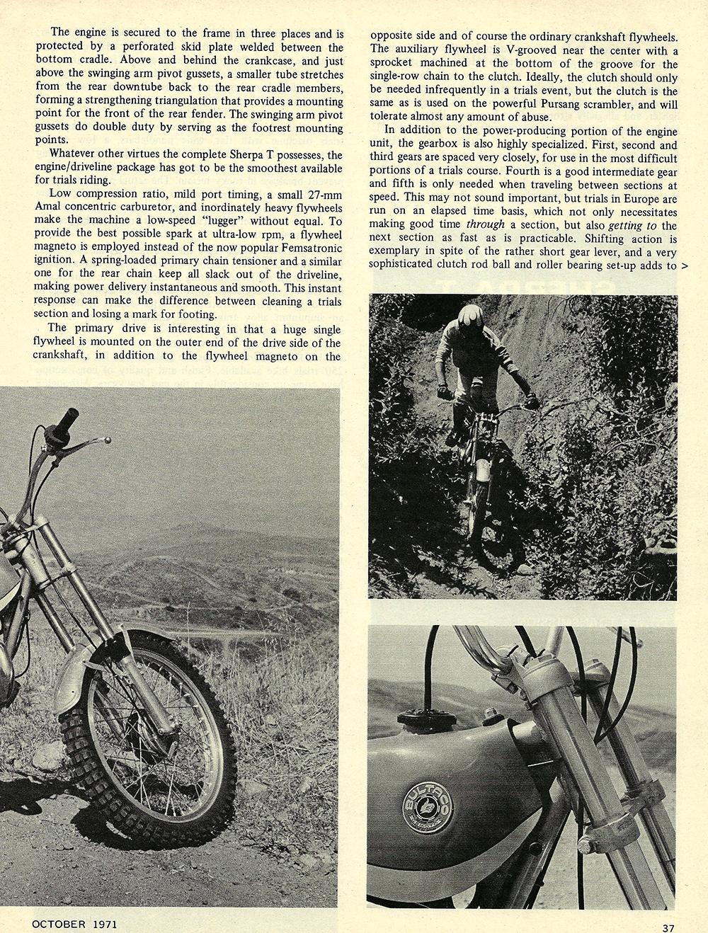 1971 Bultaco Sherpa T road test 02.jpg