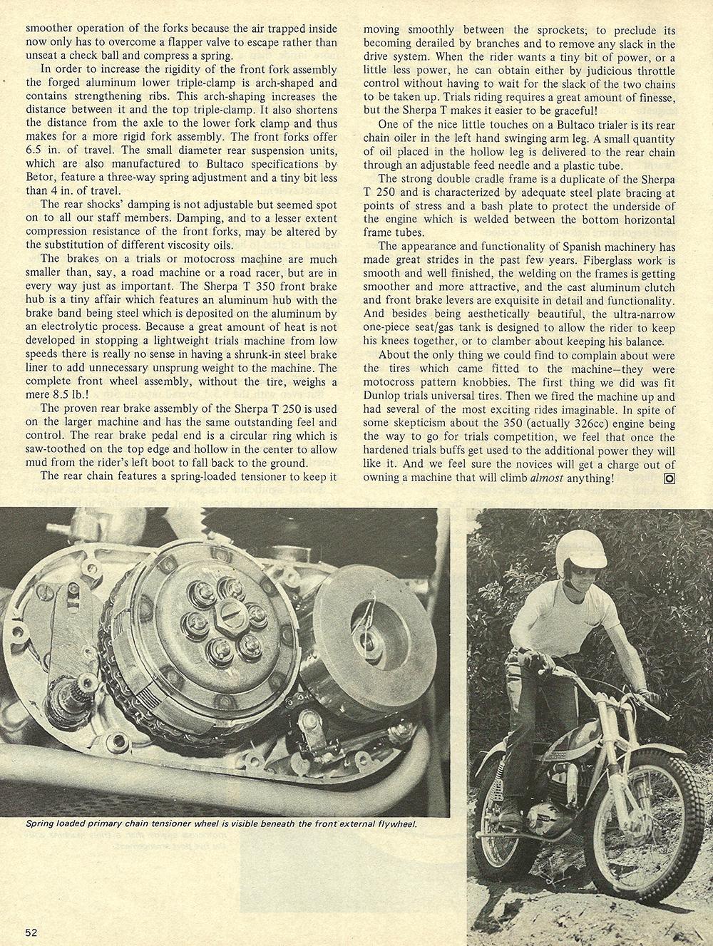 1972 Bultaco Sherpa T 350 road test 03.jpg