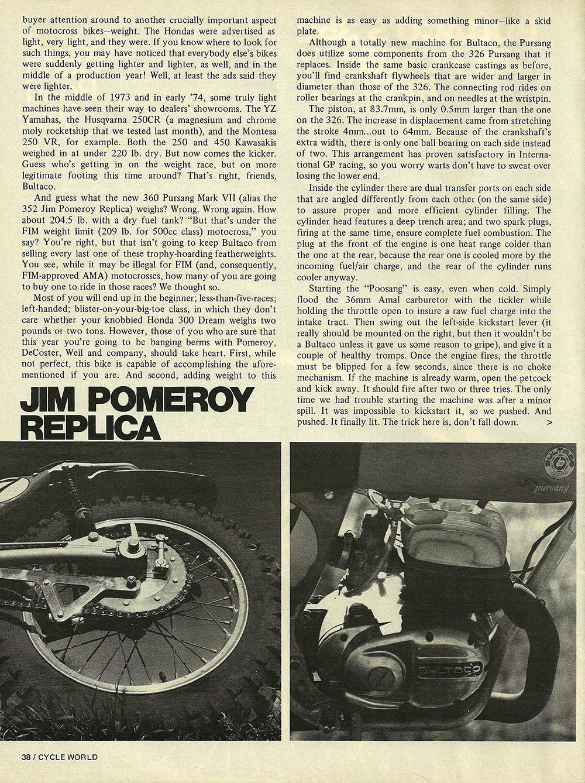 1974 Bultaco 352 Pomeroy road test 03.jpg
