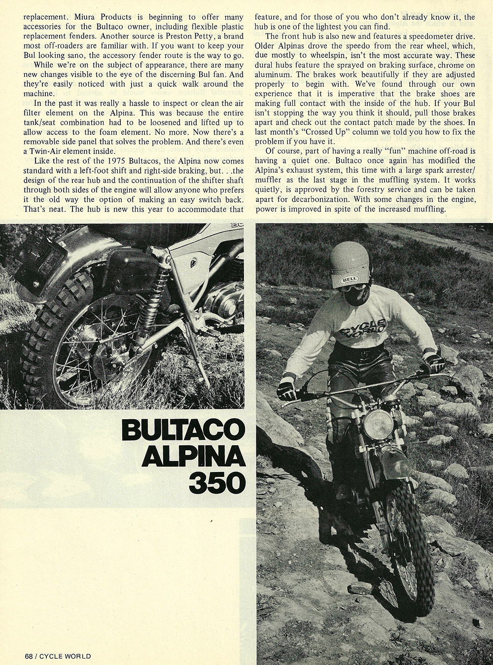 1975 Bultaco Alpina 350 road test 03.jpg