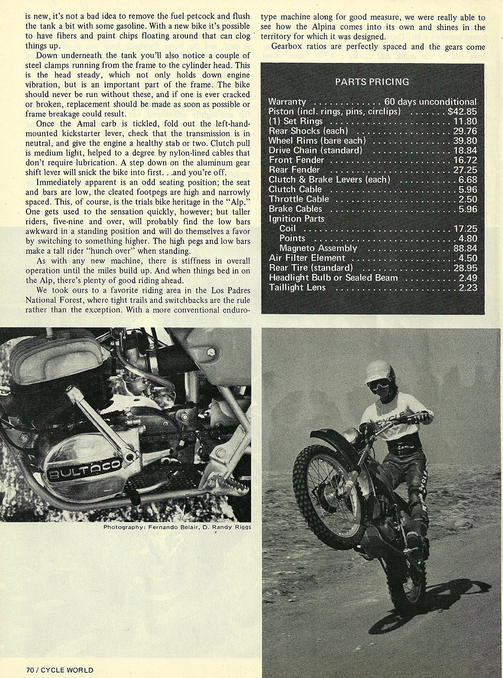 1975 Bultaco Alpina 350 road test 05.jpg